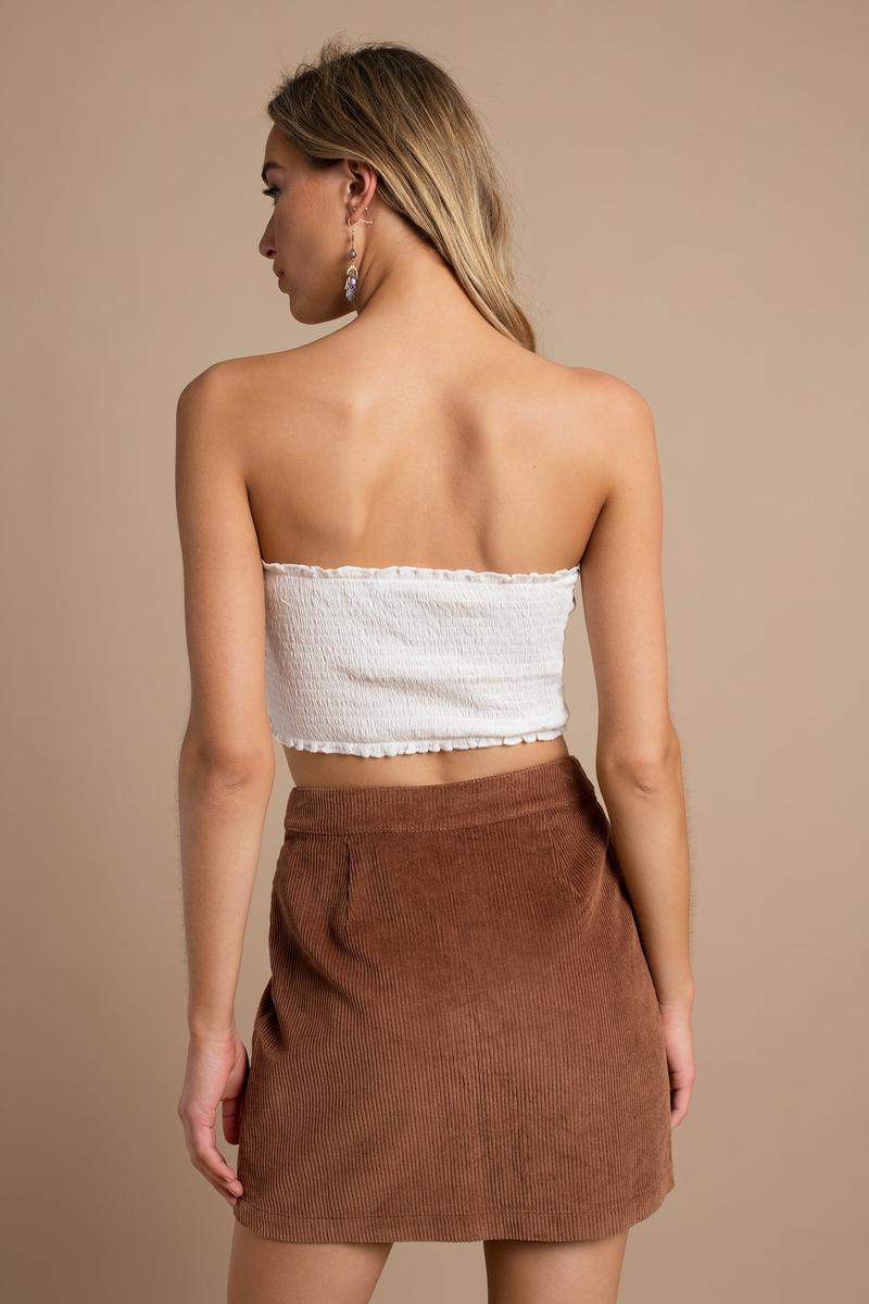 camel skirt a line skirt corduroy skirt camel