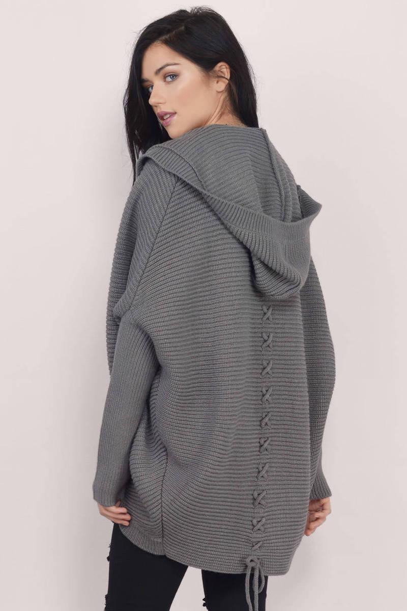 Cheap Taupe Cardigan - Oversized Cardigan - Taupe Cardigan - $20 ...