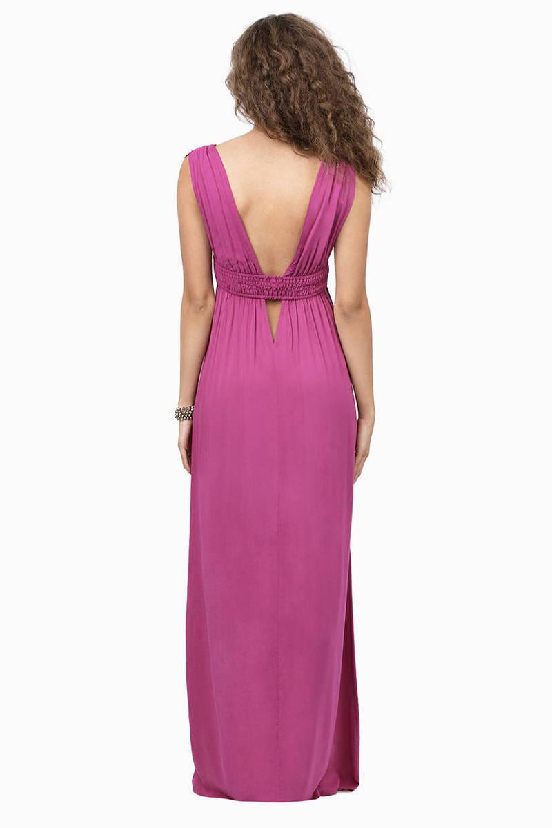 Orchid Maxi Dress - Purple Dress - Sleeveless Dress - $16.00