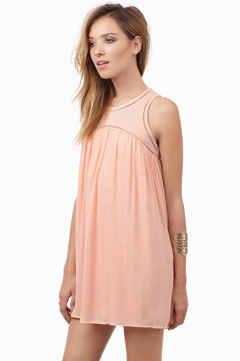 Black Day Dress - Black Dress - Babydoll Dress - $52.00