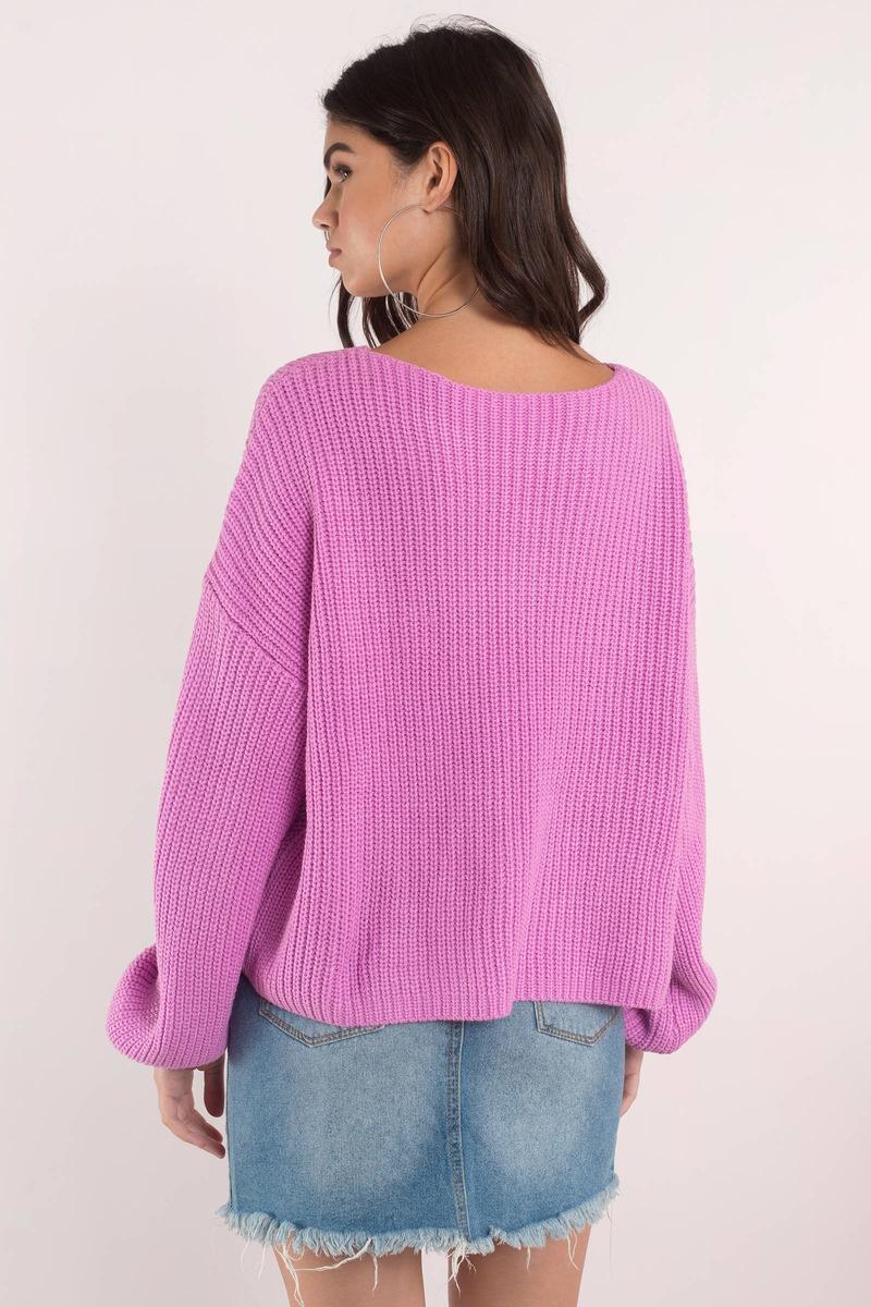 In Between Rib Olive Sweater - $31 | Tobi US