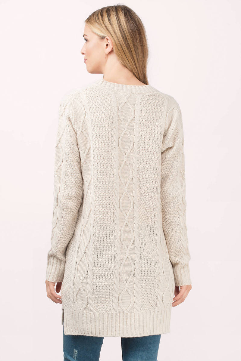 Toast Dress - Sweater Dress - Long Sweater - Day Dress - $22 | Tobi US