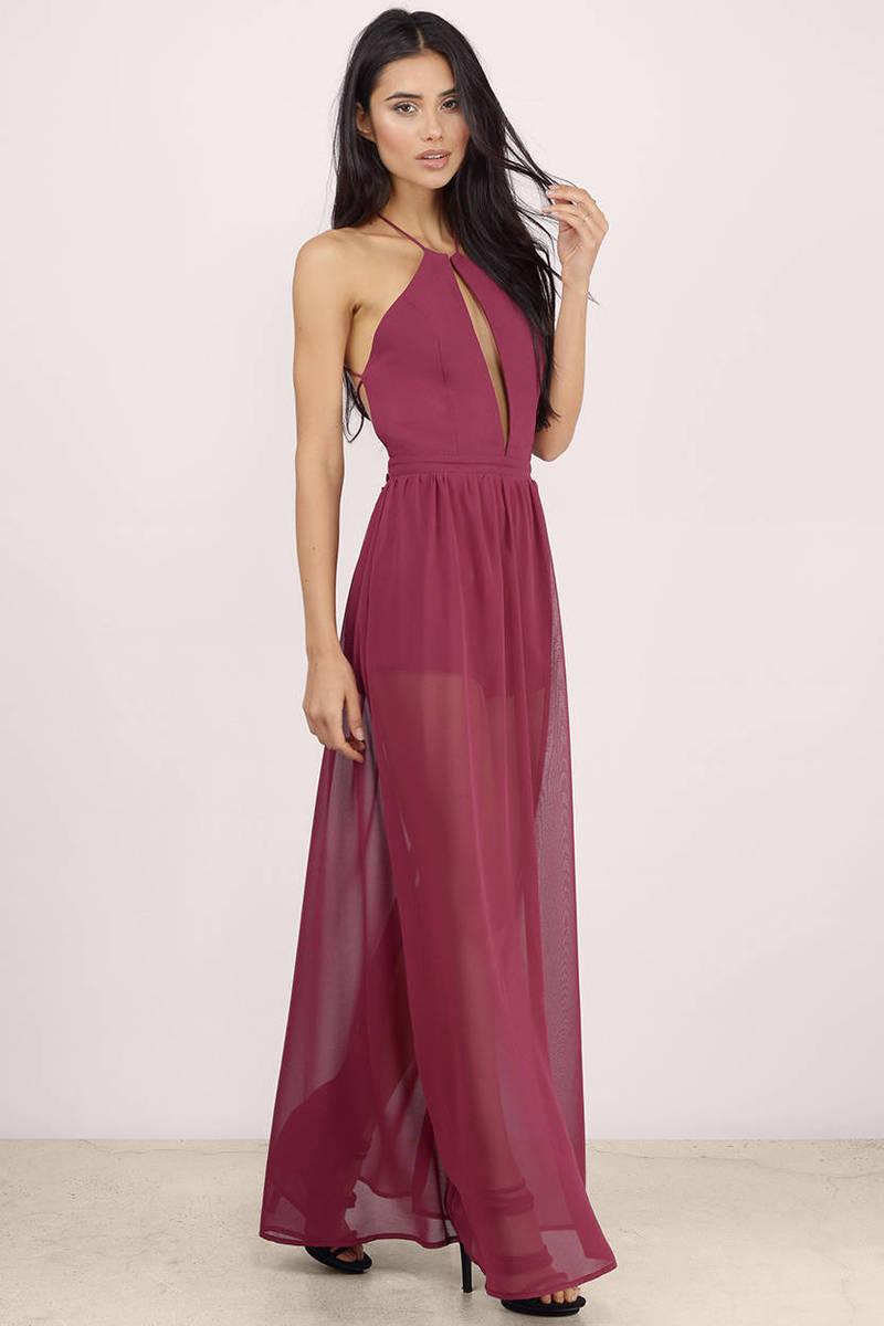 A French Affair Sheer Maxi Dress - $17 | Tobi US