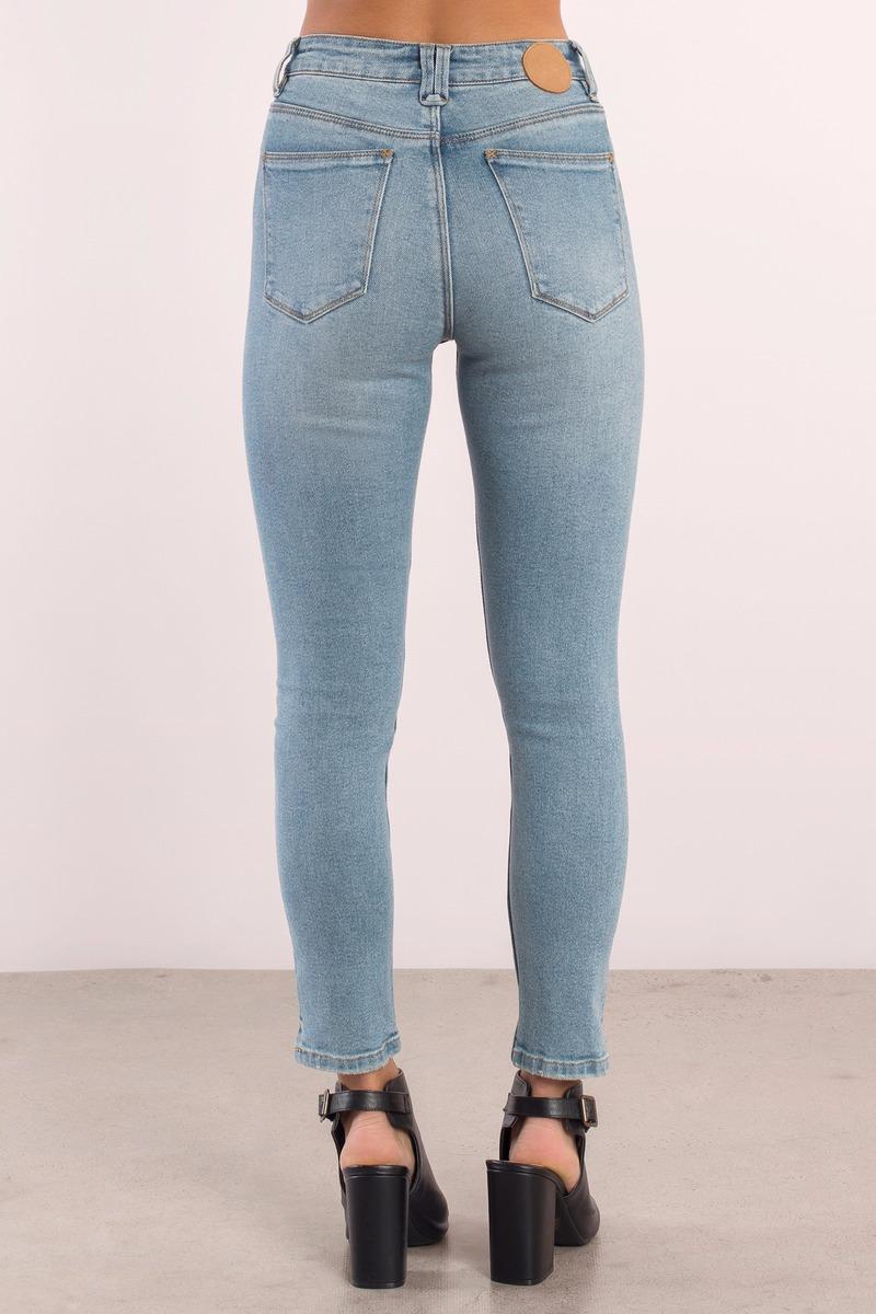 Cute 76 Vintage Denim - Skinny Jeans - Blue Denim - 76 ...