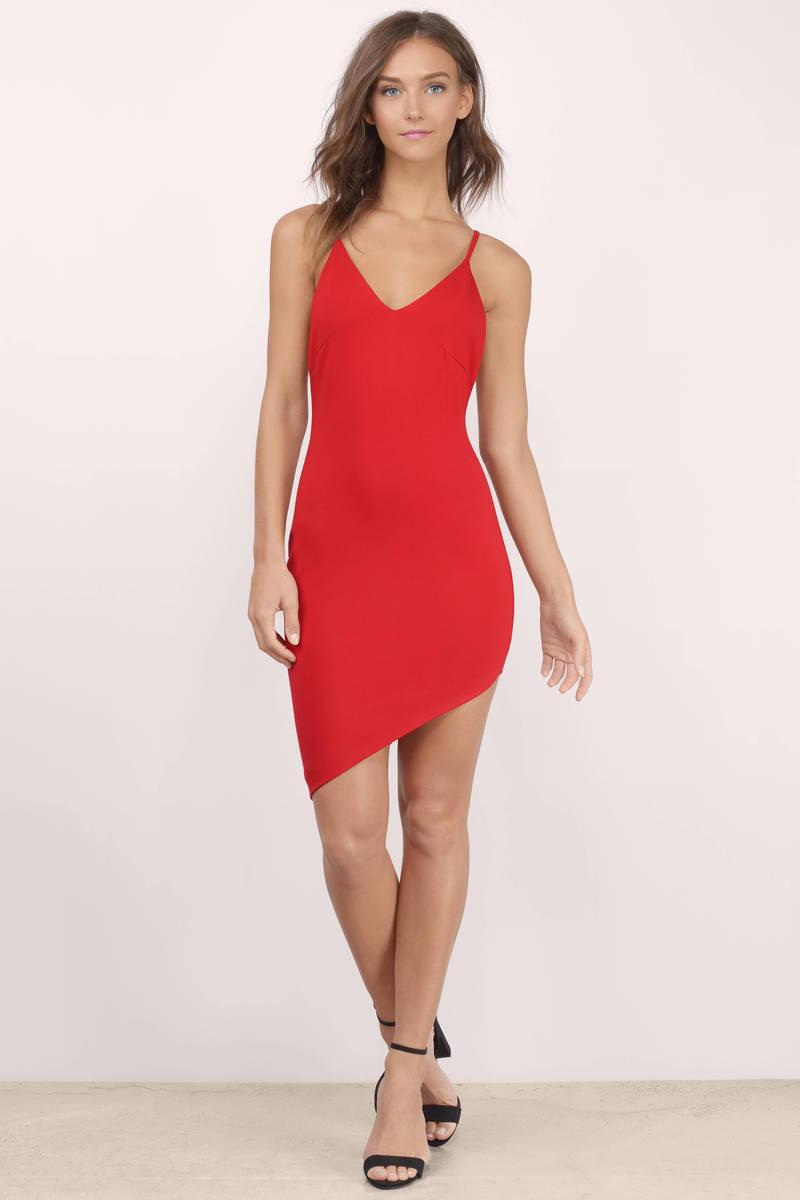 Cheap Black Bodycon Dress - Black Dress - Mini Dress - $27.00