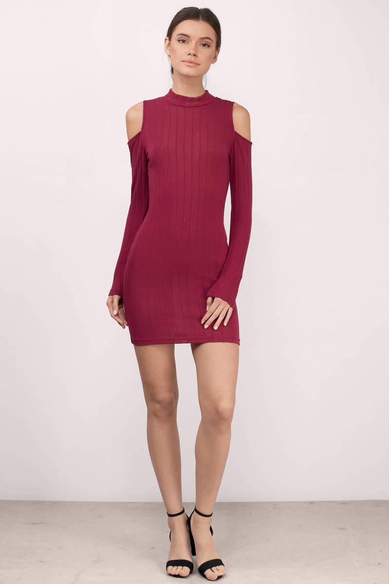 Womens evening on clearance long sleeve dresses bodycon ebay photos