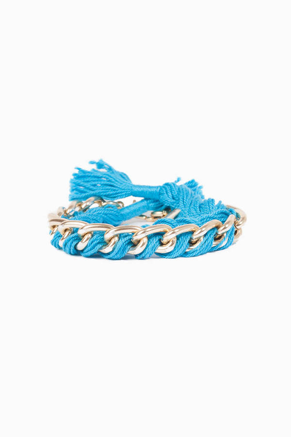 timi Braid in Chain Bracelet