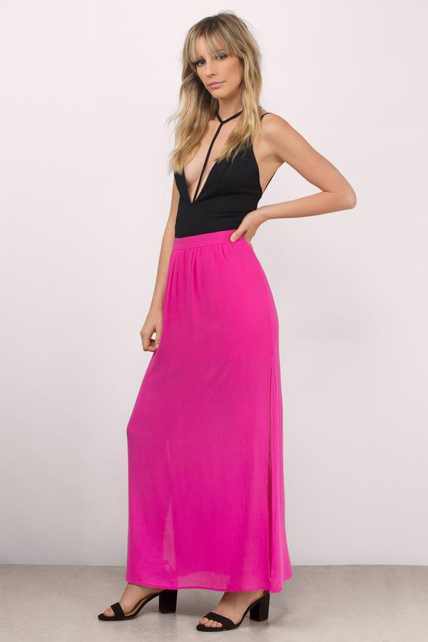 Long Flowy Skirts | Shop Long Flowy Skirts at Tobi
