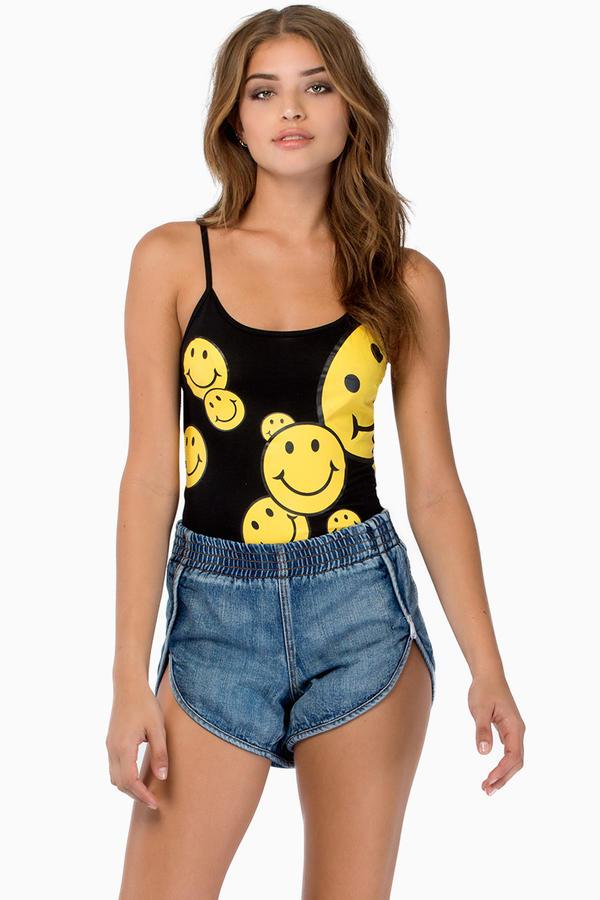 Reverse All Smiles Bodysuit