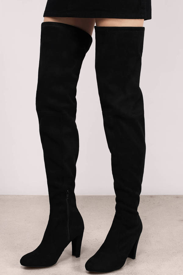 trendy black boots black boots suede boots 90 00