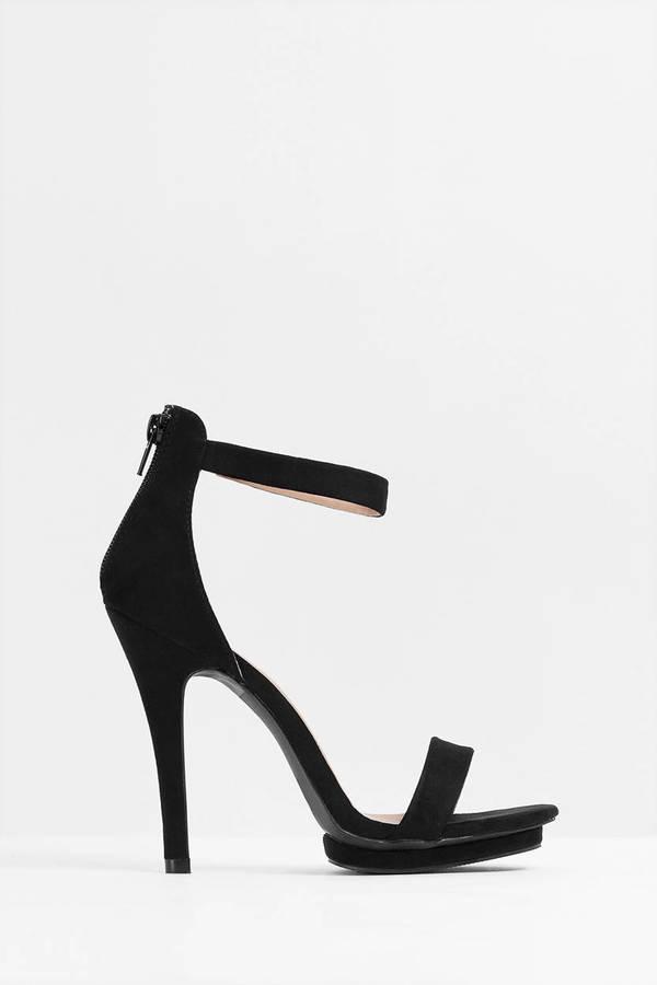 Olive Heels - Green Heels - Open Toe Heels - Army Green Pumps ...