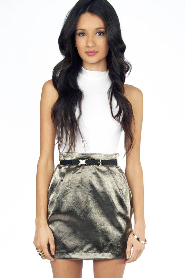 Gold Rush Skirt