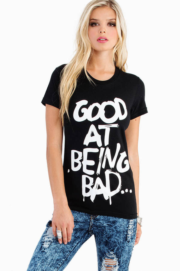 Hellz Bellz Being Bad T Shirt