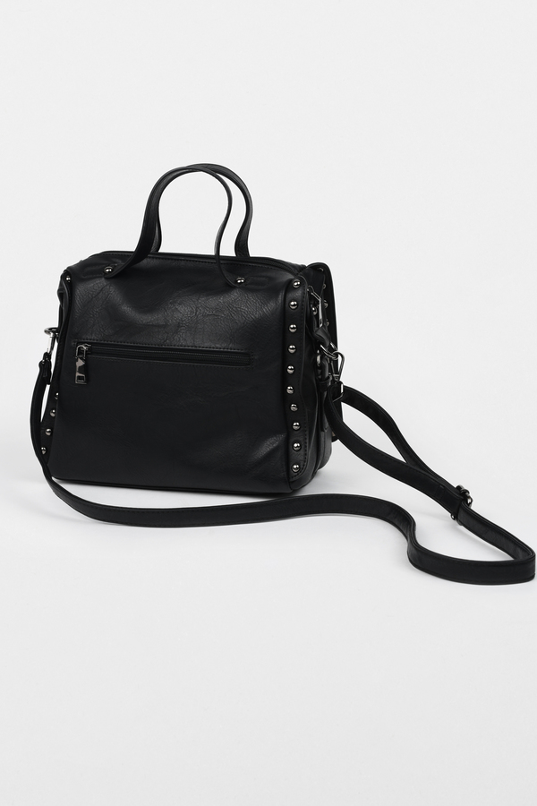 Women S Bags And Purses Black Leather Totes Clutches Tobi