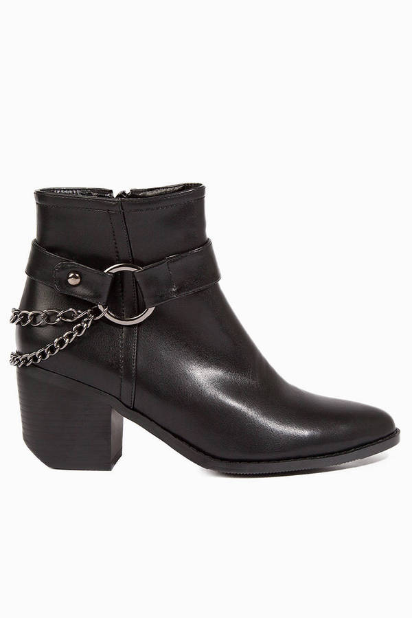 Chained At The Heel Boots