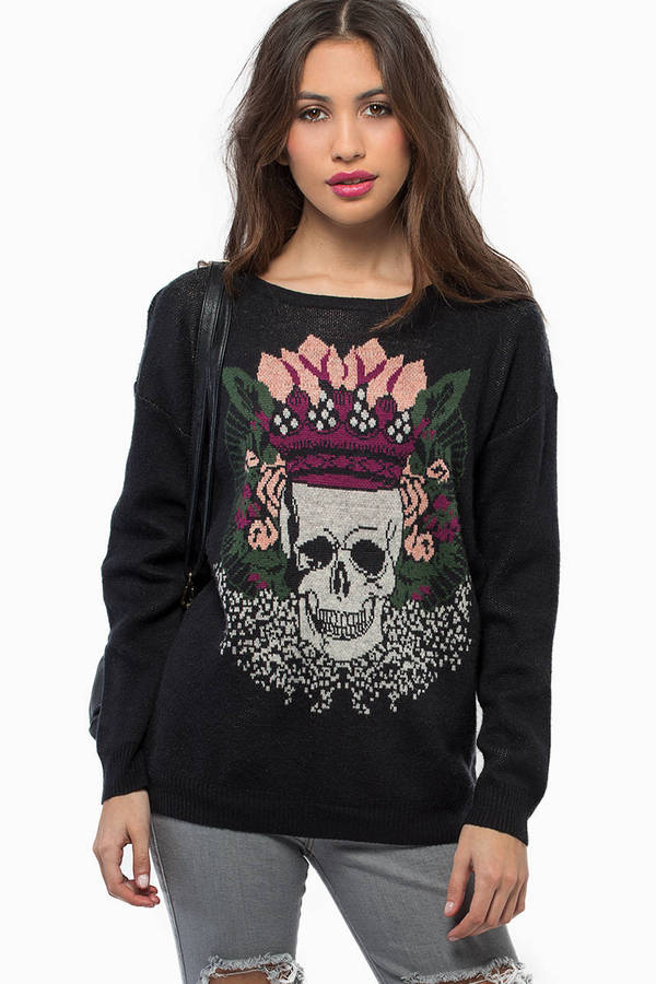 Crown My Skull Sweater