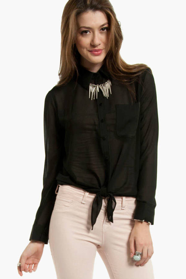 Daniella Button Down Blouse