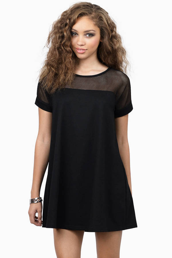 Don't Mesh With Me Dress