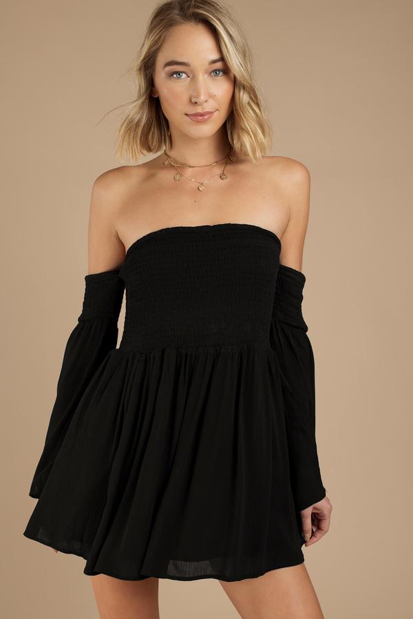Long Sleeve Dresses - Black- White- Lace- Short- Maxi Dresses- Tobi