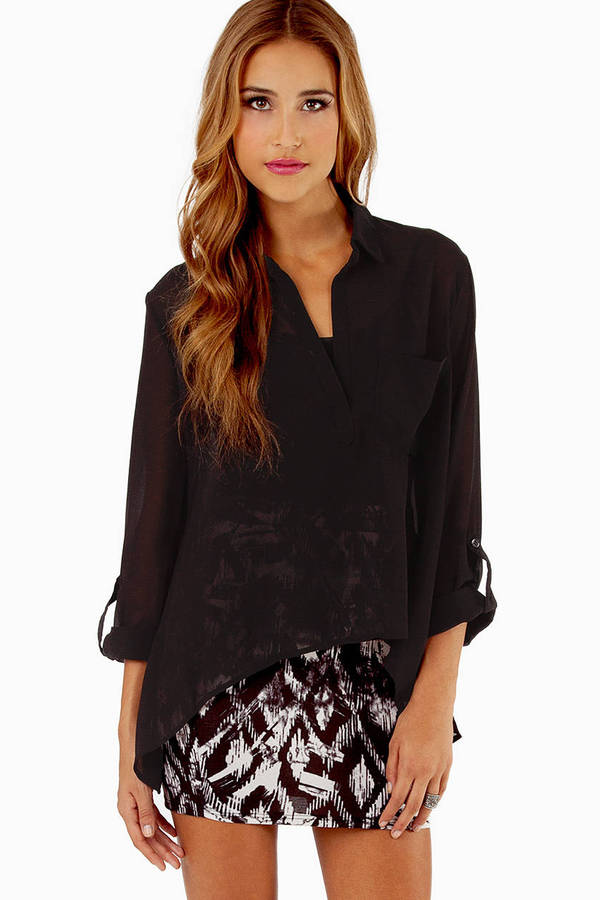 Evie Pocket Blouse