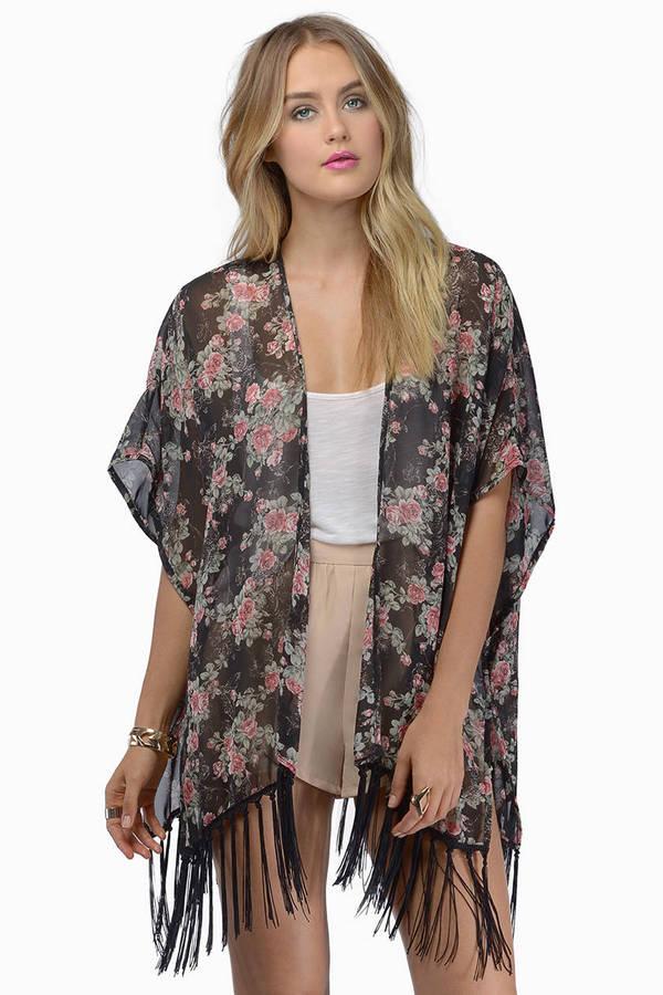 Petal To The Fleur Kimono