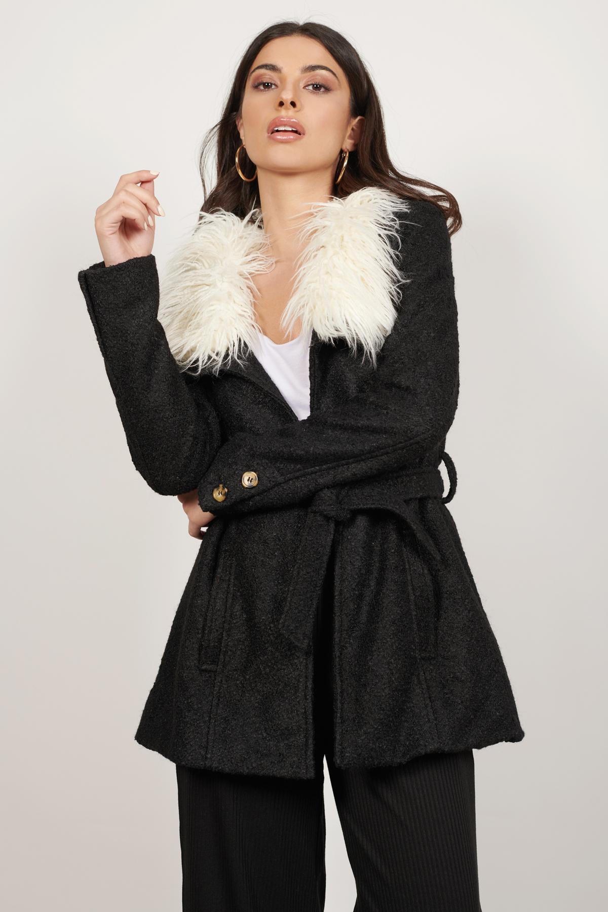 Fur Coats   Shop Fur Coats at Tobi