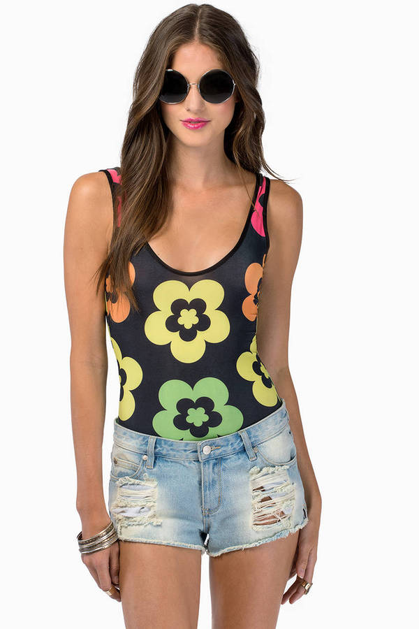 Flower Power Bodysuit