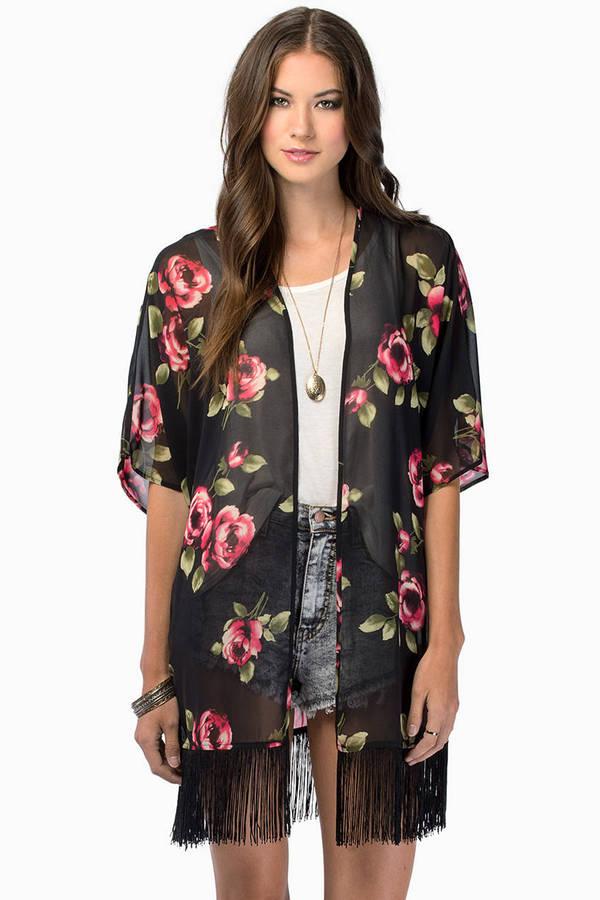 For Petals Kimono