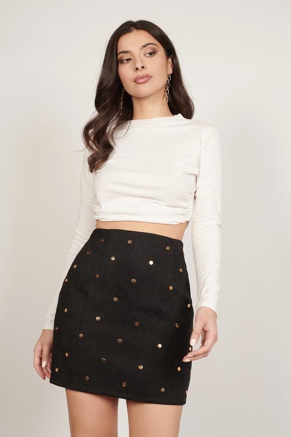 Skirts Tight Pencil Skirt Black Mini Skirt Corduroy Tobi