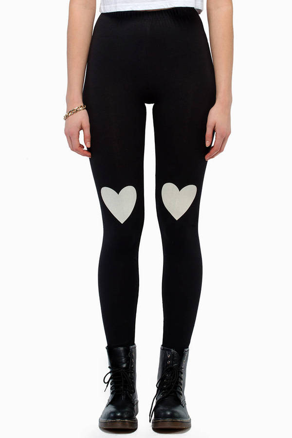 Heart On My Knee Leggings