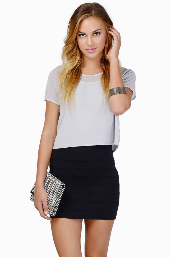 Horizon Bodycon Skirt