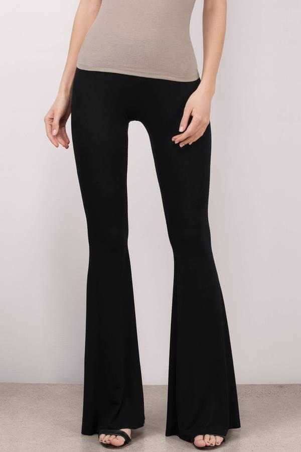 Pants For Women - Dress Pants- Black Pants- High Waisted Pants - Tobi