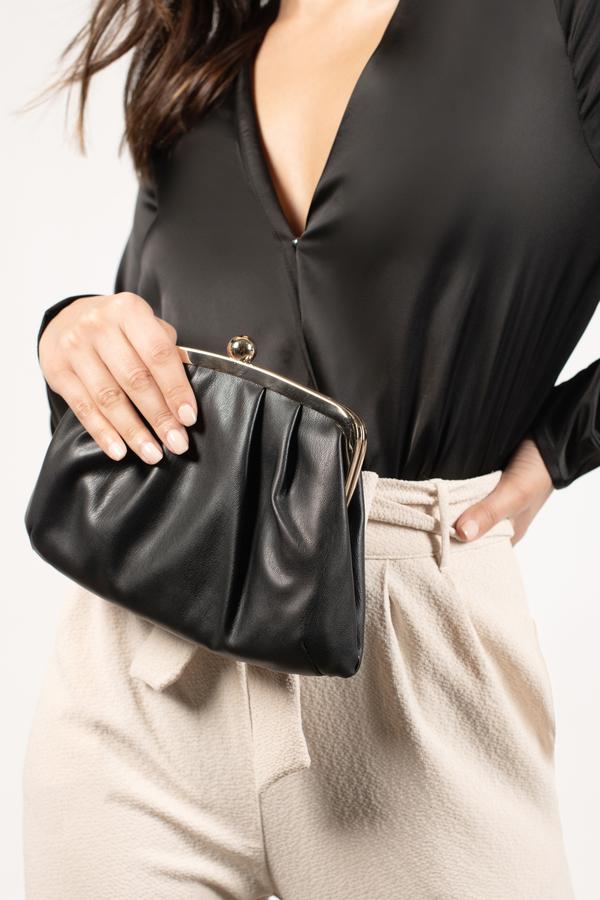 Women's Clutches   Black Clutch Purses, Gold Evening Bags   Tobi