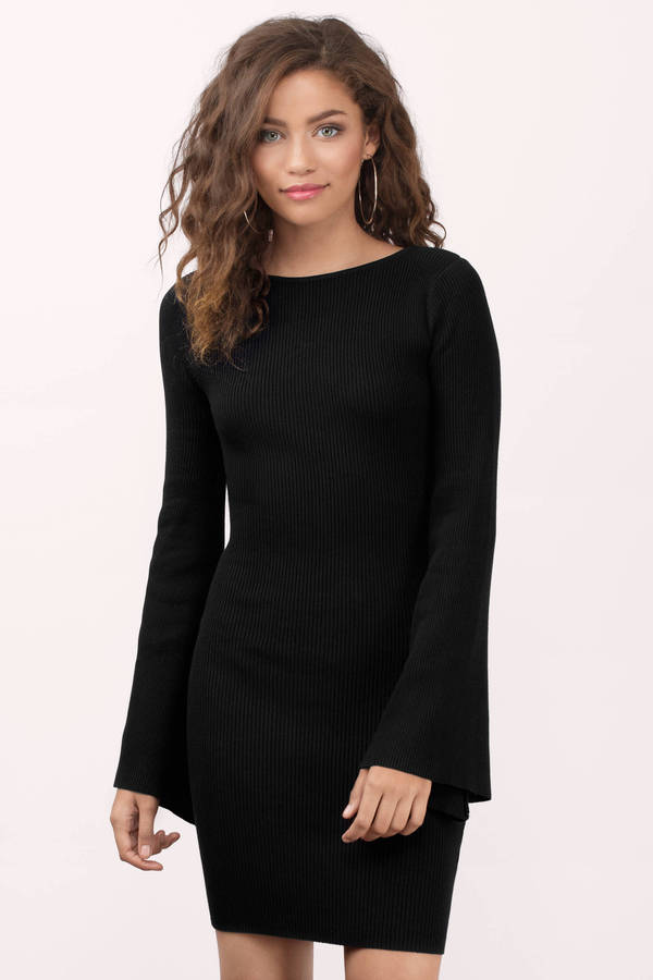 Long Sleeve Black Dress & Black Long Sleeve Dress | Tobi