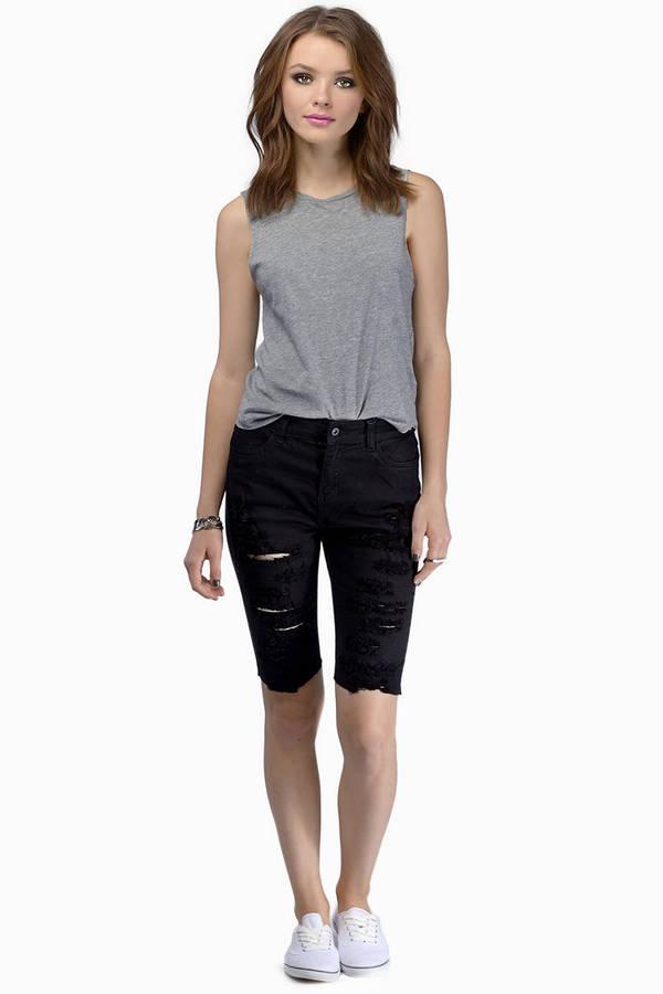 Knee Grazer Shorts