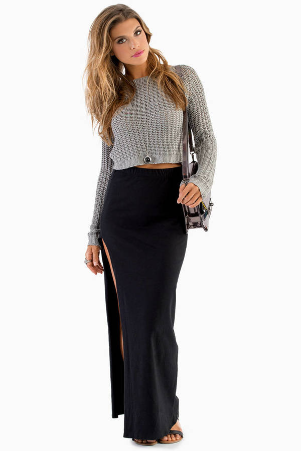 Kneeling Kourtney Maxi Skirt