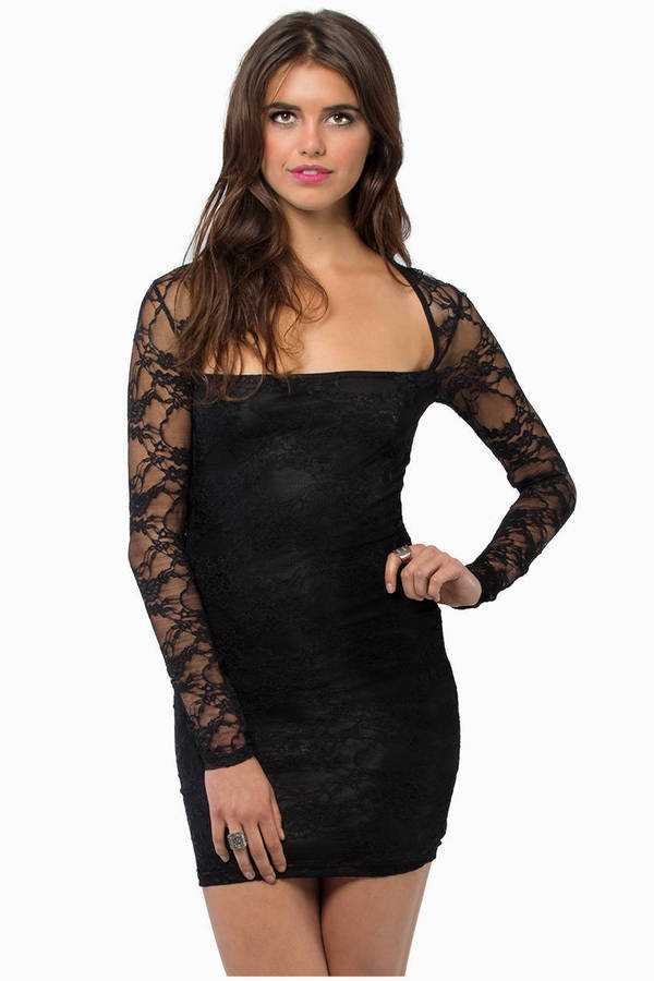 Lace Closely Bodycon Dress