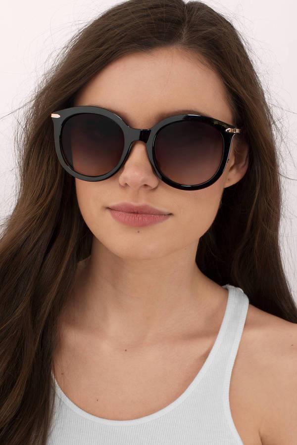 oversized sunglasses  I Know Tortoise Oversized Sunglasses - $18.00