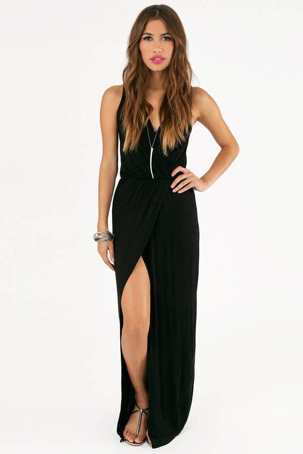 Let's Split Up Maxi Dress
