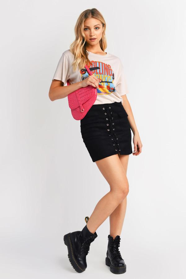 92d5a1f71c Mini Skirts | Tight Skirts, Short Skirt, Black Mini Skirt | Tobi