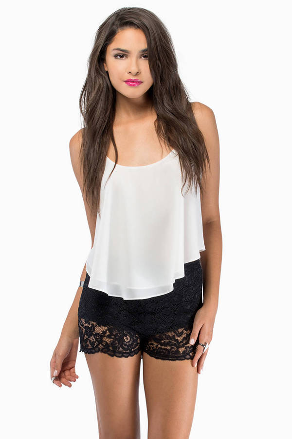 Lilliana Lace Shorts