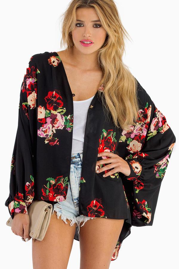 Live In Love Kimono
