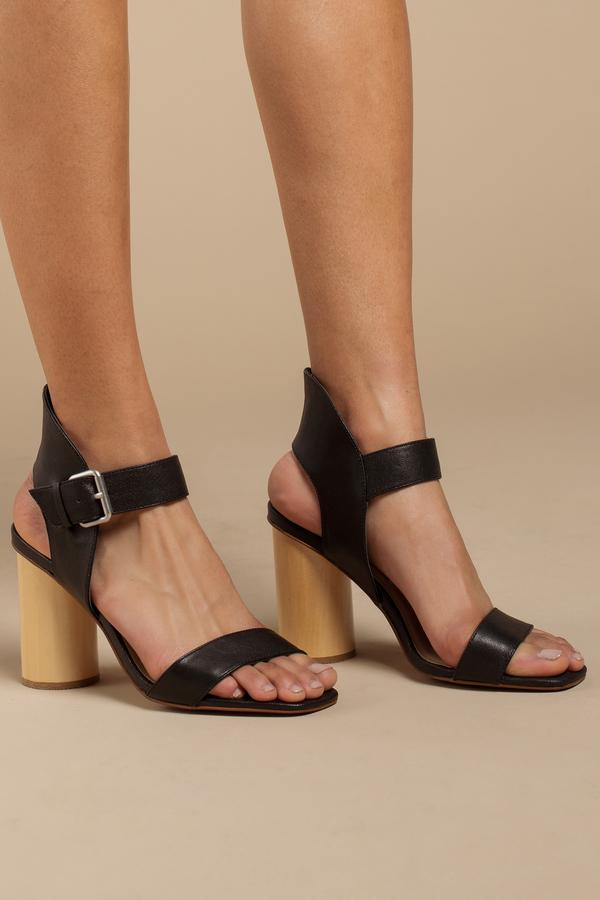 30c5433597 Designer Styles on Sale, Black, Locator Ankle Strap Heels By Kristin  Cavallari ...