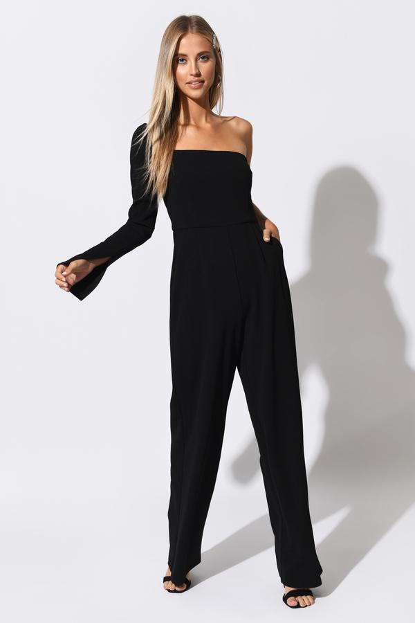 ed36602ce5c0 Black Jumpsuits