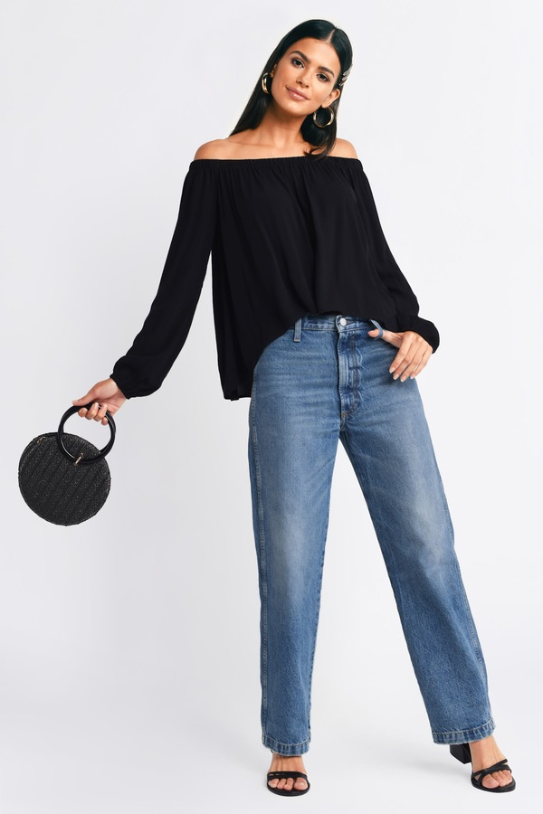 c46ff7654c78ba Off the Shoulder Tops