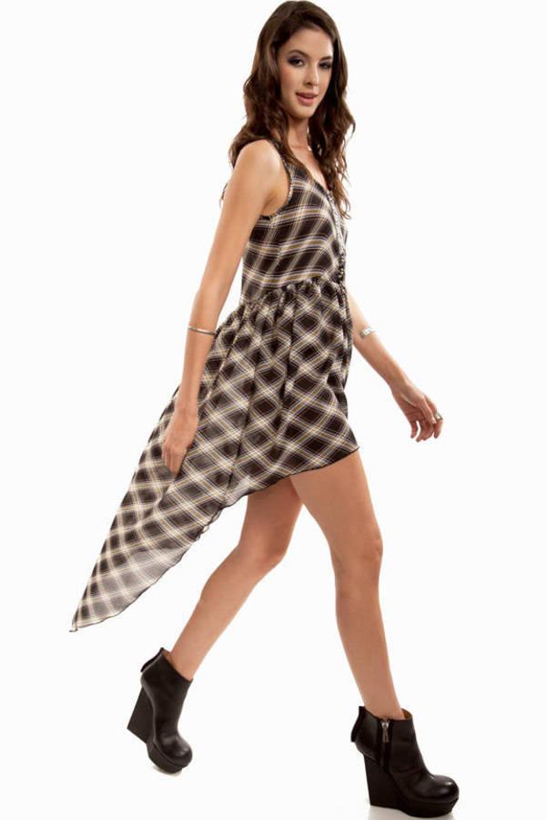 Maddy Plaid Dress