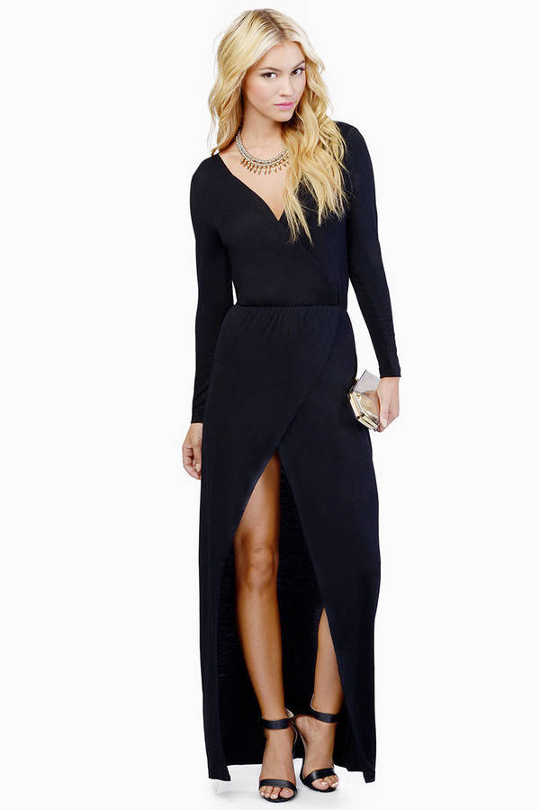 Mimi Maxi Wrap Dress