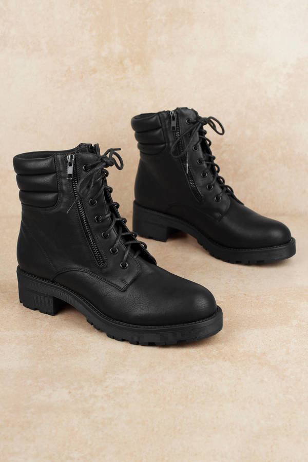 Black Shoes For Women High Heel Boots Sexy Black Shoes Tobi