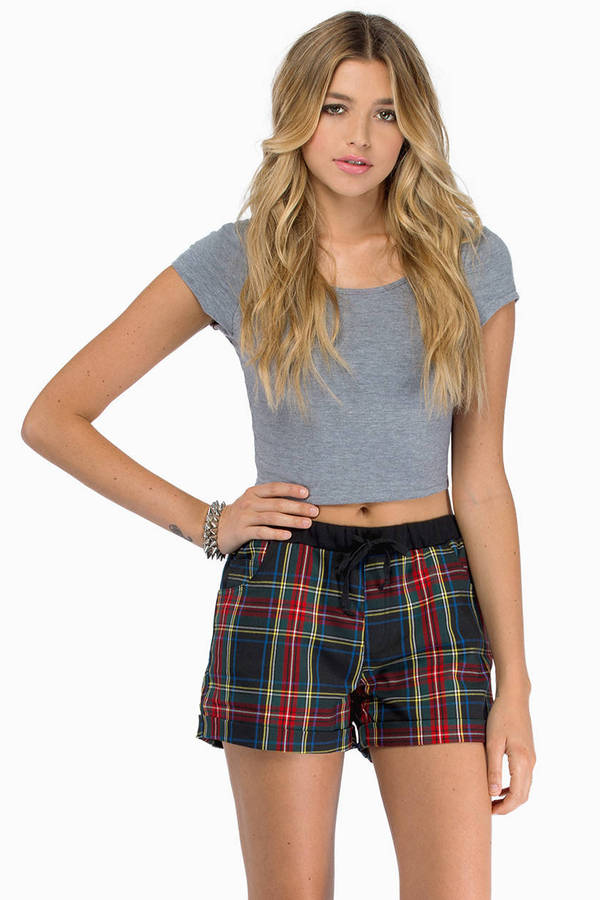 Plaid for the Bad Shorts