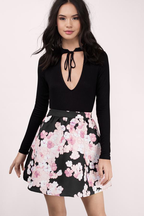 Black skirts black pencil skirt black maxi skirt tobi black skirts black multi sweet endings flared skirt mightylinksfo